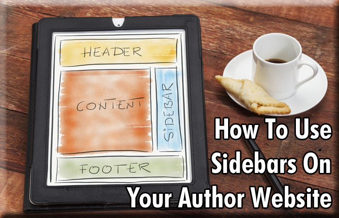 How To Use Sidebars On Your Author Website