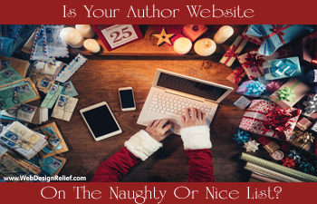 Is Your Author Website On The Naughty Or Nice List?