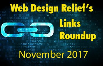 November Links Roundup | Web Design Relief