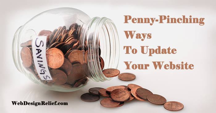 Penny-Pinching Ways To Update Your Author Website | Web Design Relief