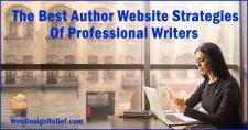 The Best Author Website Strategies Of Professional Writers | Web Design Relief