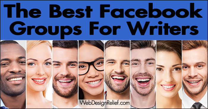 The Best Facebook Groups For Writers ∣ Web Design Relief